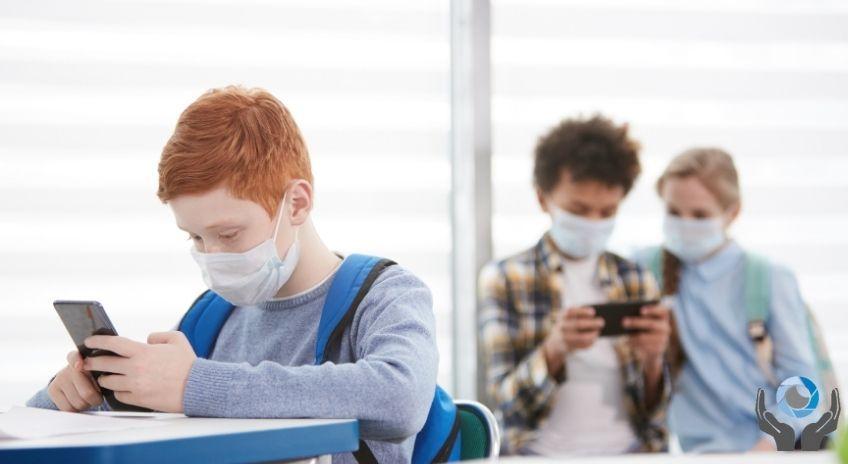Αρθρο πως επηρέασε η πανδημία την όραση των παιδιών